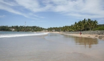 <h5>Chacala Beach</h5><p>A view to the north of Chacala Beach.</p>