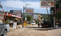 <h5>Main road</h5><p>Located just up from the beach, there are a few stores to browse for a break in the shade.</p>