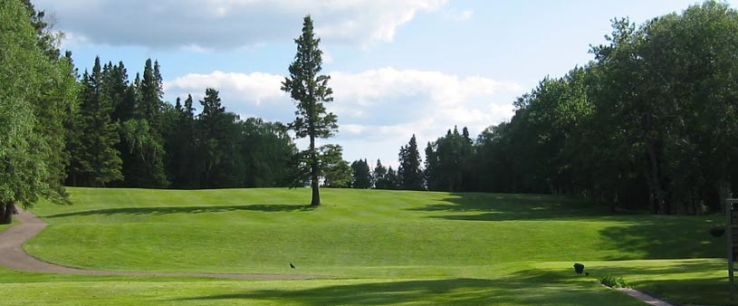 1st Hole at Waskesiu Golf Club